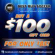 Best Buy Soccer's first offer with MySocialHQ.
